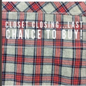 Closet Closing! Last chance to buy. Bundle to Save